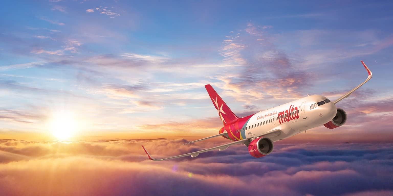 Hãng hàng không Malta - Air Malta với các đường bay đến hơn 50 điểm đến tại Châu Âu, Bắc Phi và Đông Địa Trung Hải. Ảnh: Internet