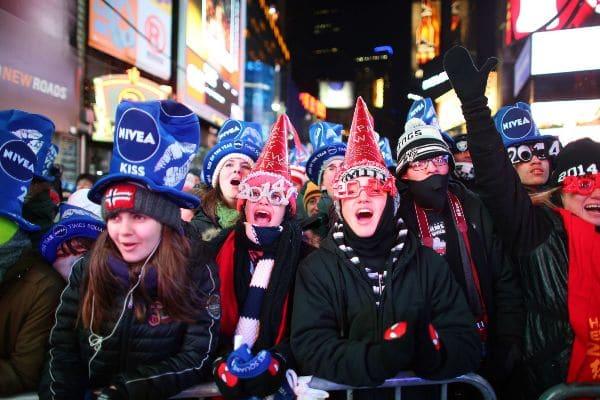 Phong tục đón năm mới của người Mỹ
