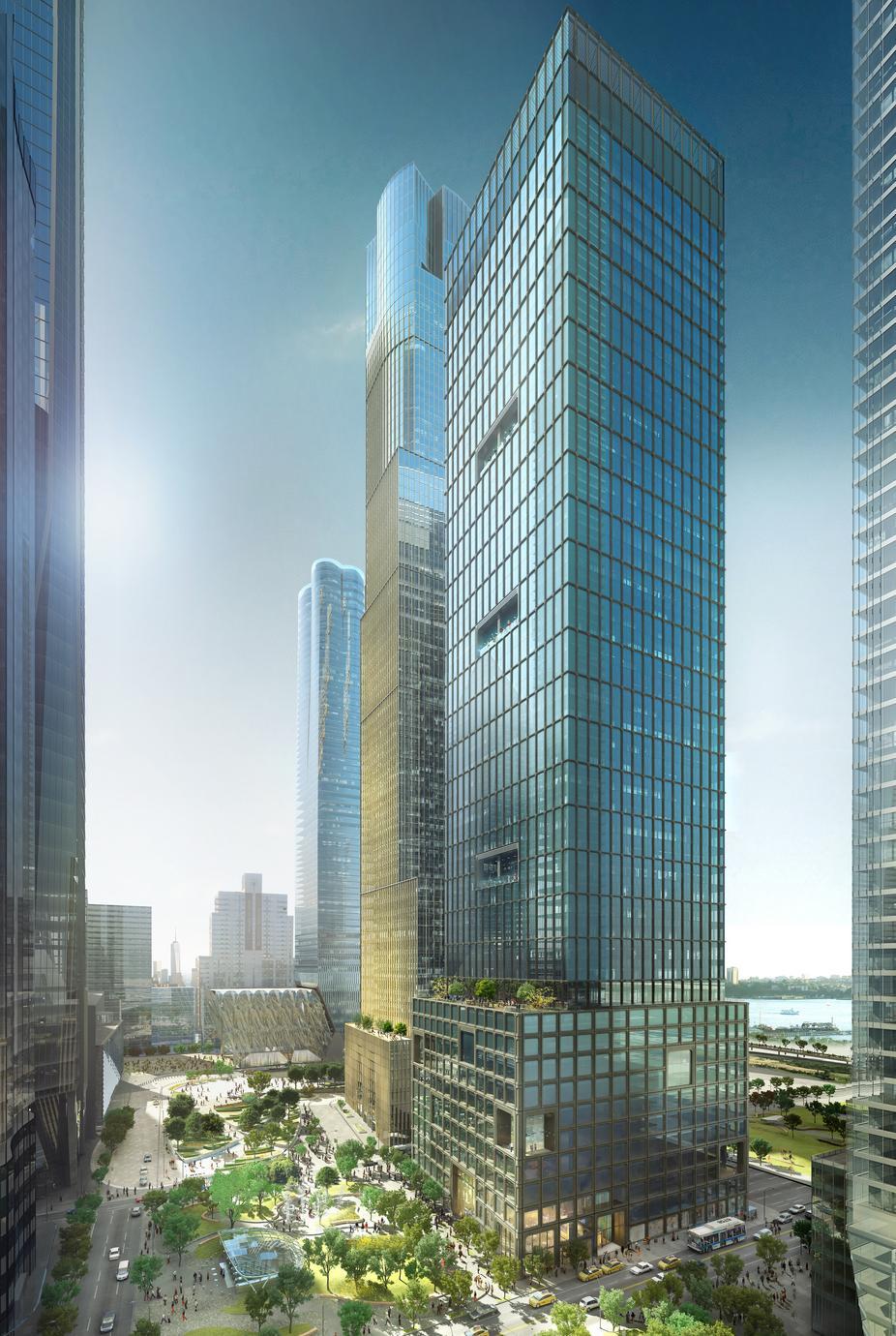Toà nhà tại 55 Hudson Yards đã cho thuê hơn 50% diện tích