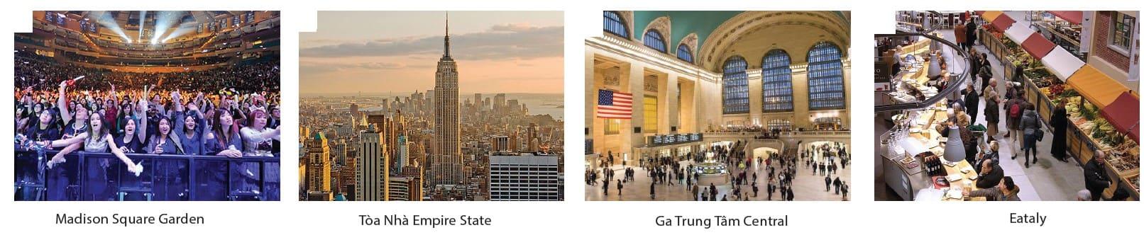 Địa điểm tham quan được yêu thích nhất tại Hoa Kỳ