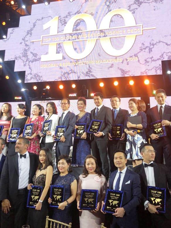 IBID vào top 100 công ty tư vấn đầu tư EB5 toàn cầu