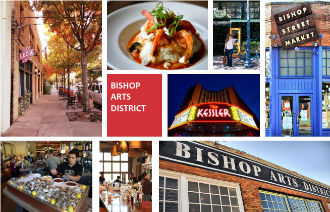 Thị trường nội địa Bishop Arts District
