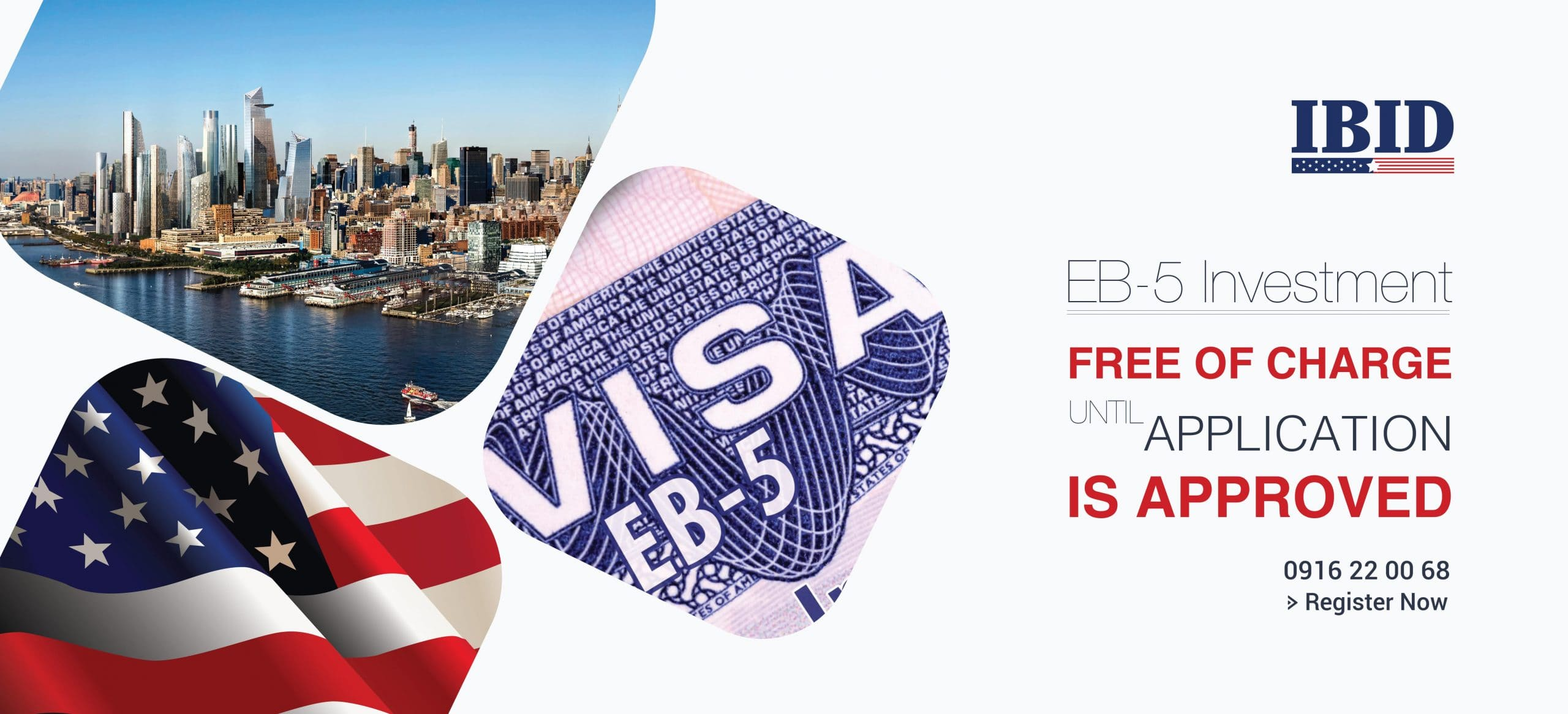 Free of charge for investing EB5 at IBID