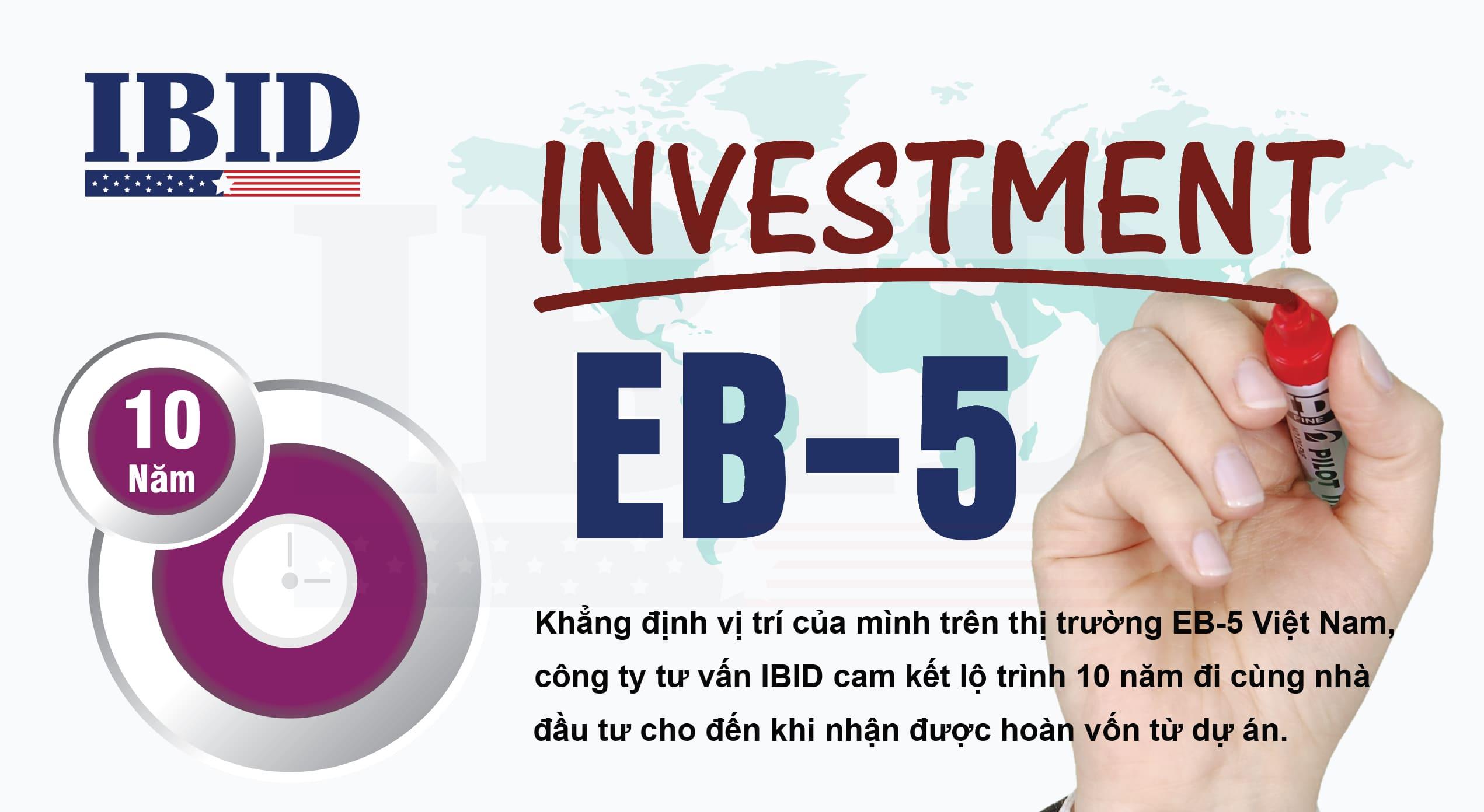 IBID cam kết lộ trình 10 năm đi cùng nhà đầu tư EB-5