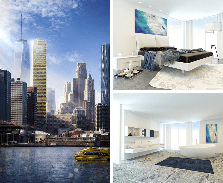 Lightstone giới thiệu dự án mới – Wall Street Tower